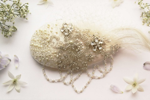 Emmy McCormick Mary Lou Headpiece