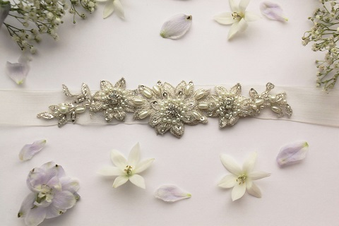 Emmy McCormick michelle bridal belt